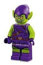 LEGO Super Heroes Green Goblin Minifigure from 76133