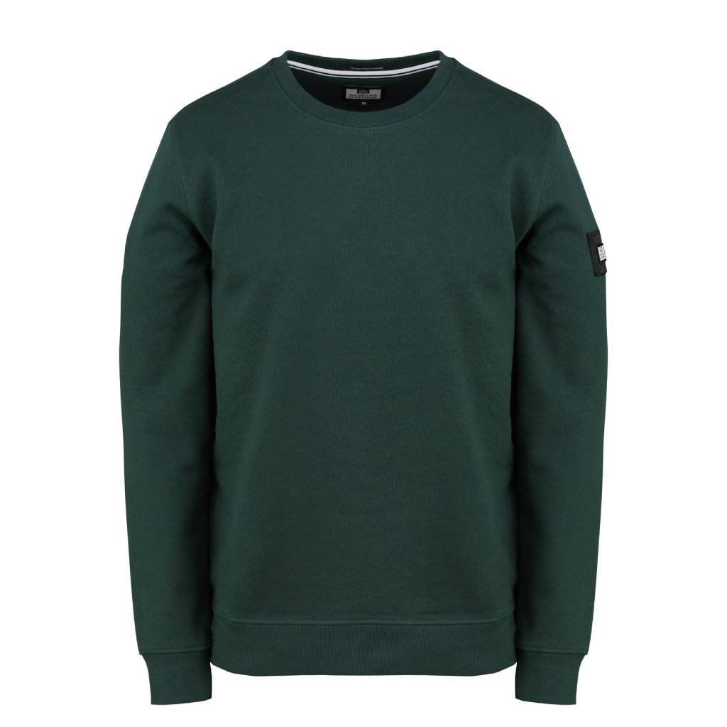 Weekend Offender F Bomb AW20 Sweat - Deep Forest Small