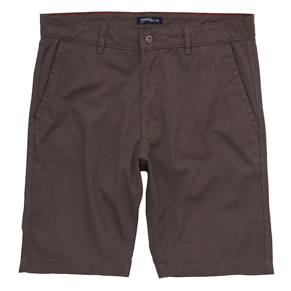 Asquith & Fox Chino Shorts - Slate 38'/X-Large