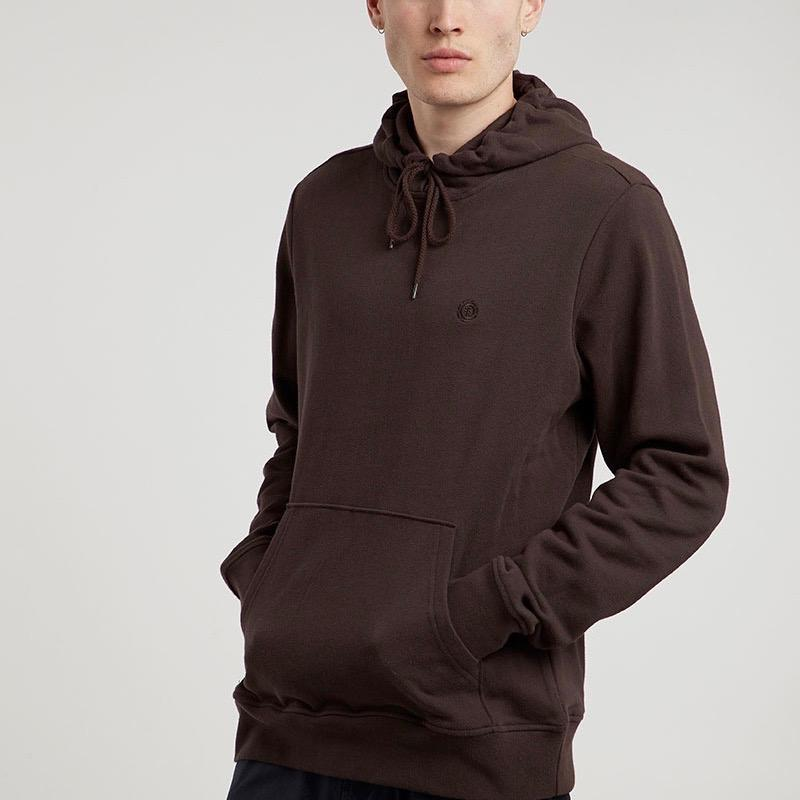 Element Cornell Terry Hooded Sweat - Chocolate Small