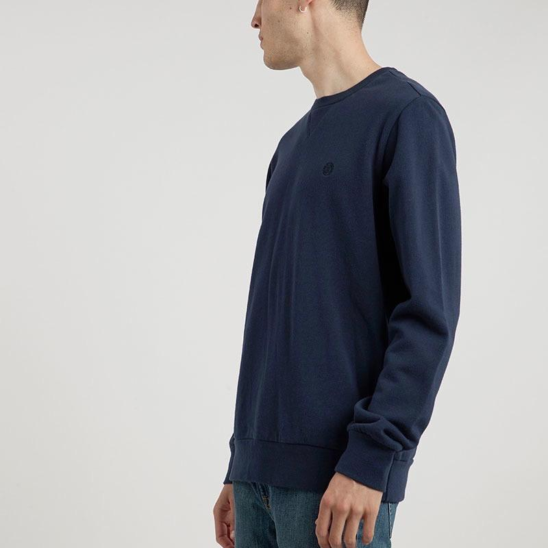 Element Cornell Terry Crew Sweat - Indigo X-Large
