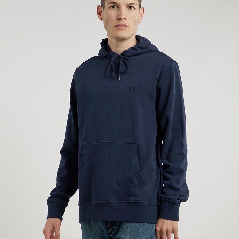 Element Cornell Terry Hooded Sweat - Indigo X-Large