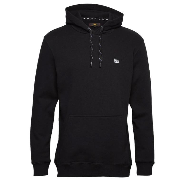 Lee Hooded Sweatshirt - Black Medium