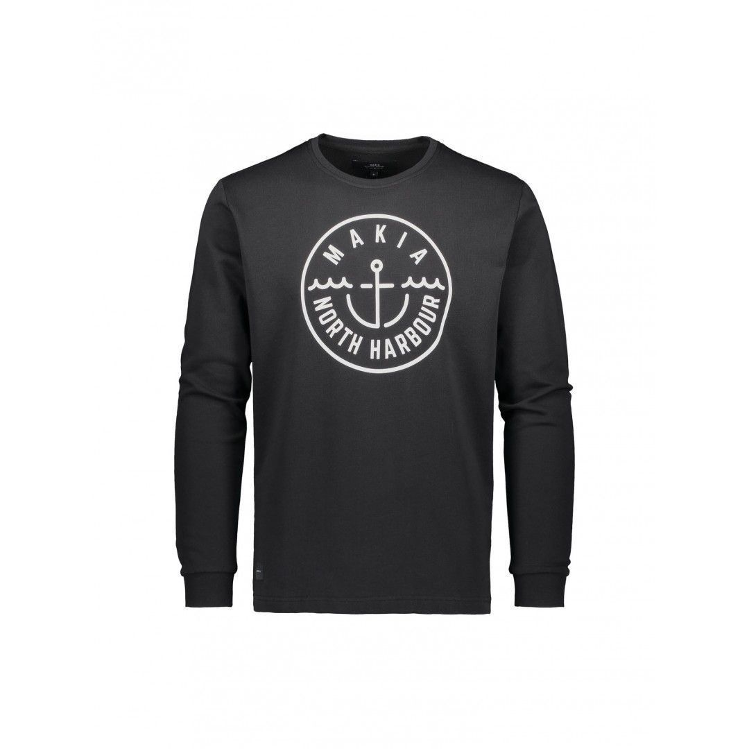 Makia Crown Sweatshirt - Black X-Large