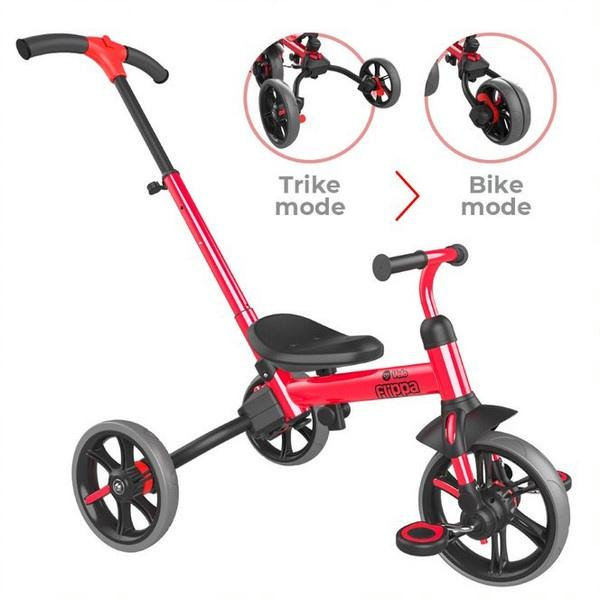 YVelo Flippa  3 in 1 Trike to Balance Bike