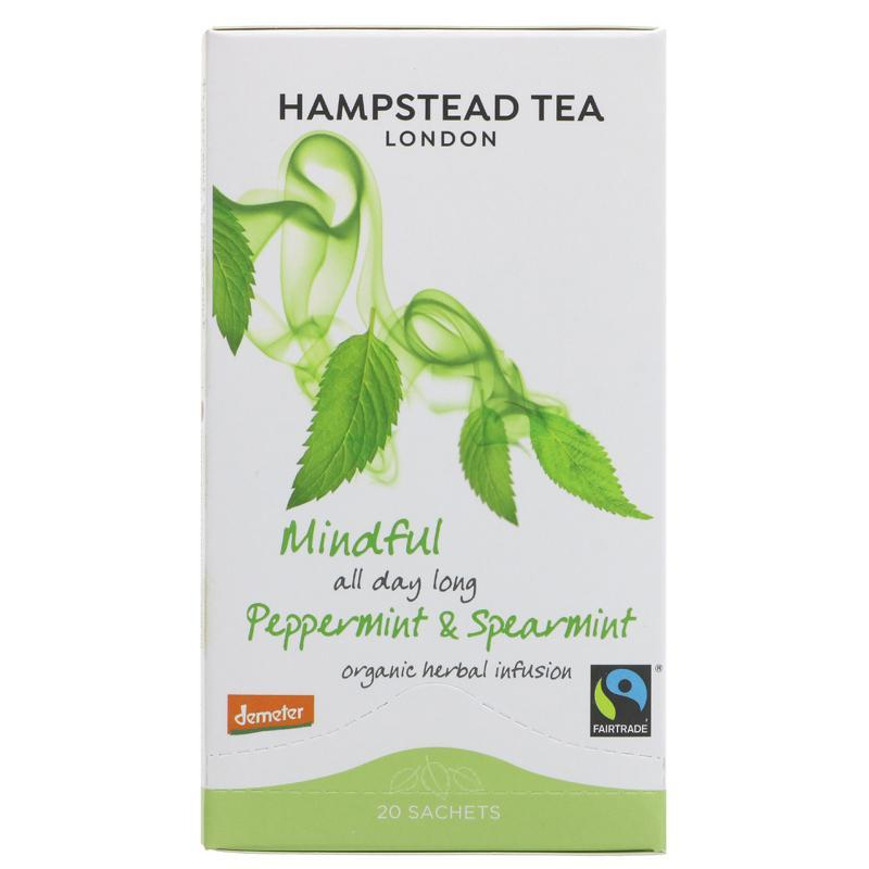 Hampstead Tea Peppermint & Spearmint Teabags