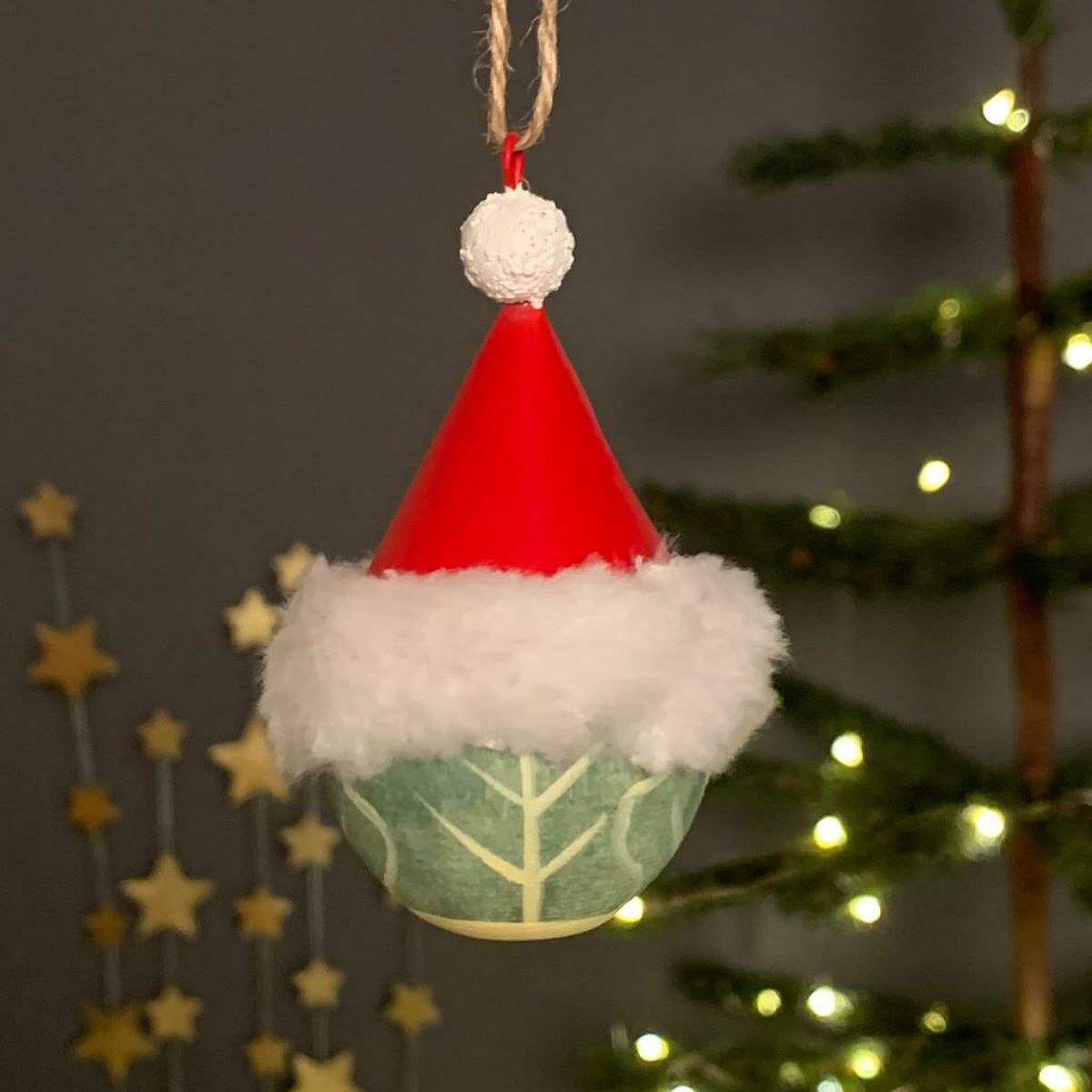 Mr. Xmas Sprout Hanging Christmas Decoration