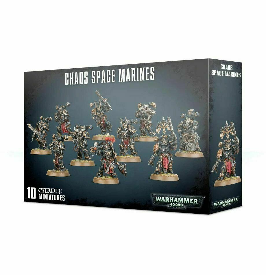 Chaos Space Marines - Warhammer 40.000