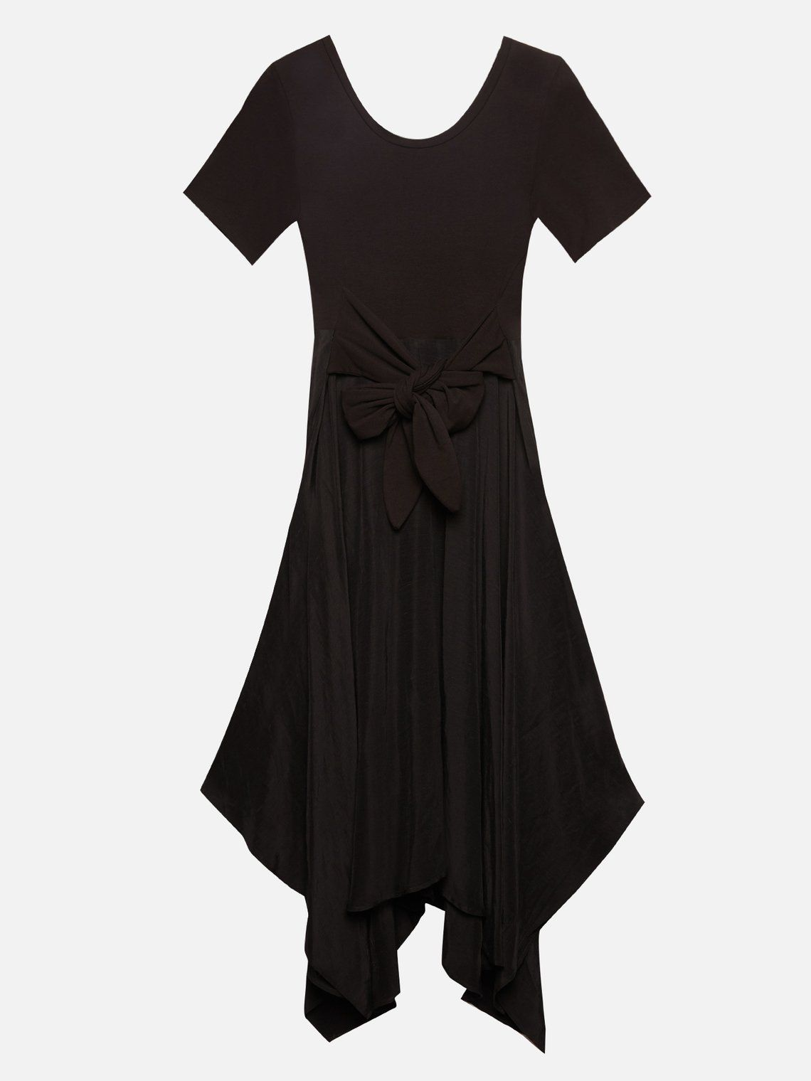Caractere Dress in Black 7333AO 01A1 10