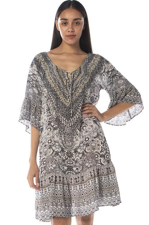 Inoa Gypsy Dress in Casablanca T3