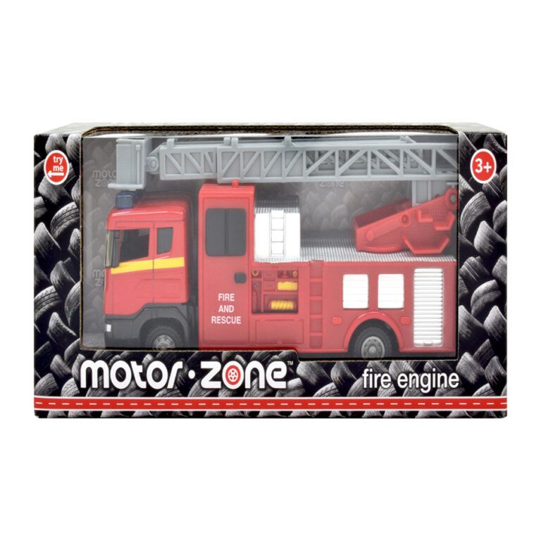 Fire Engine with extendable ladder by Motorzone