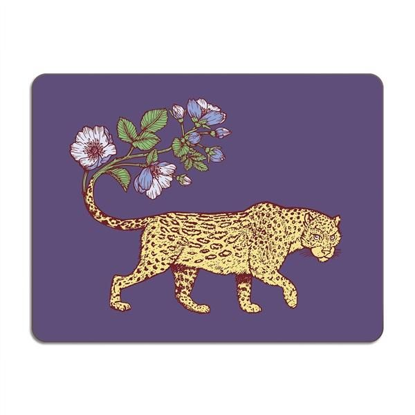 Avenida - Puddin' Head Leopard Table Mat 38 x 29cms