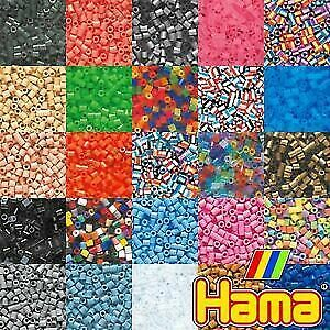 Hama Beads - Various Colours to Choose from - 1000 Per Bag - UK Supplier