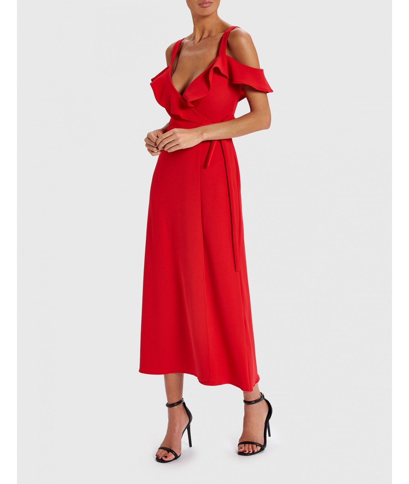 Forever Unique Melanie Midi Dress