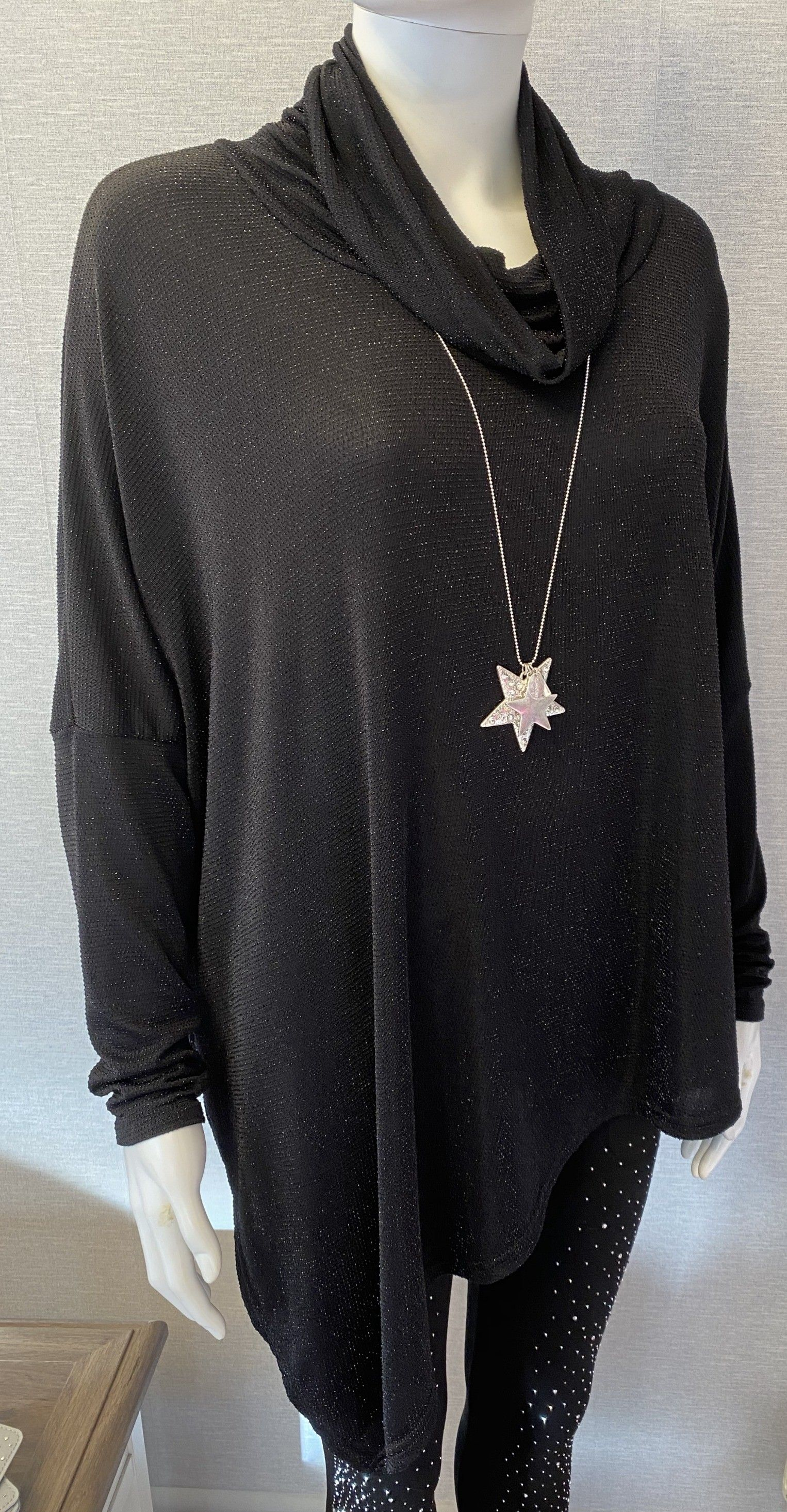 Ivy Sparkle Tunic Grey