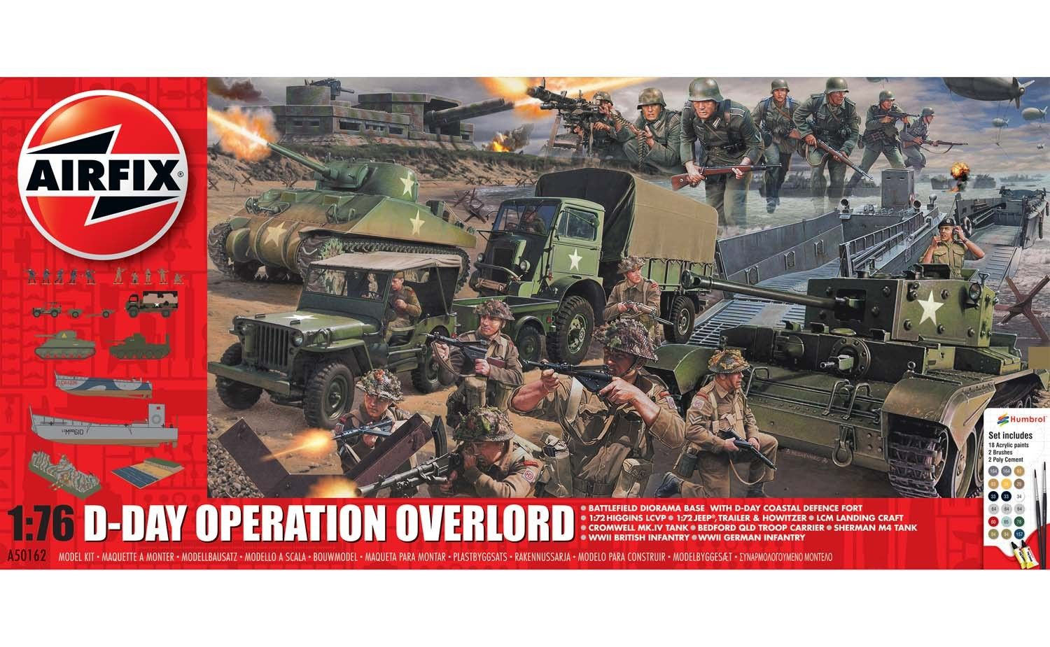 Airfix - D-Day Operation Overload - 1:76 - A50162A - Extra Large Gift Set