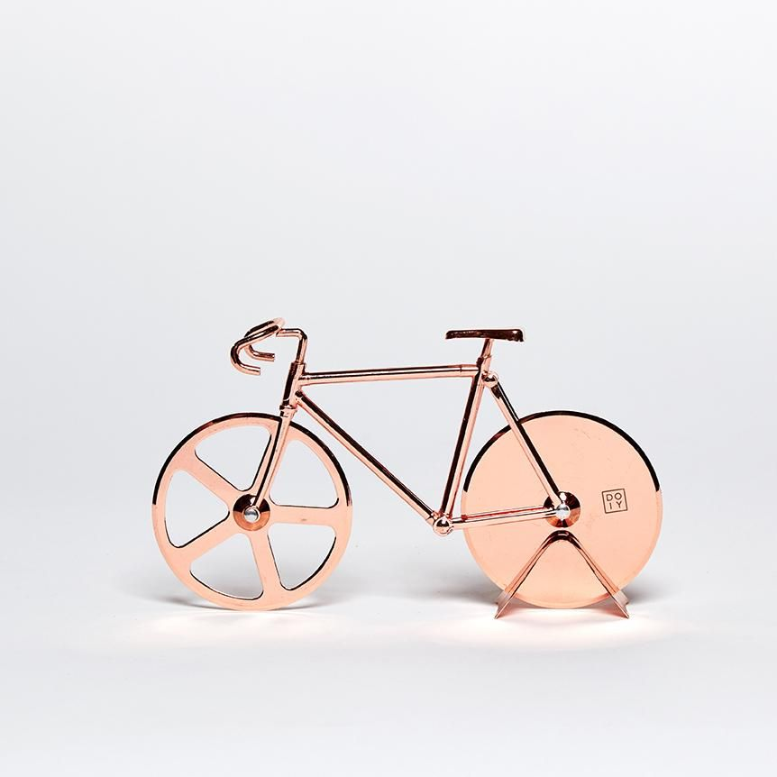Pizza Cutter Bicycle Fixie Bike in Copper