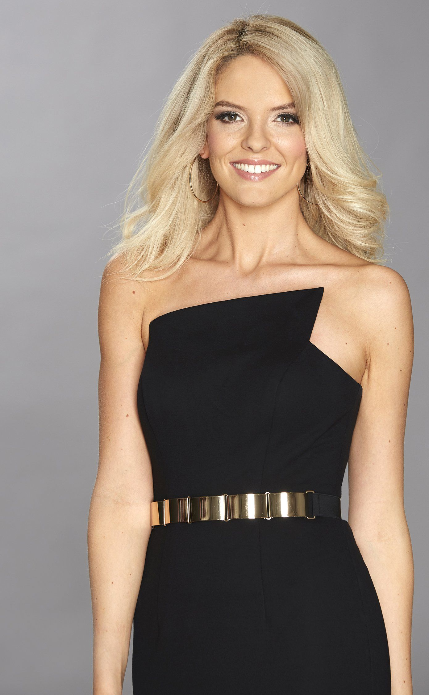 Margot Black Evening Dress in the style of Tess Daly
