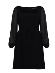 French Connection Black Shift Dress