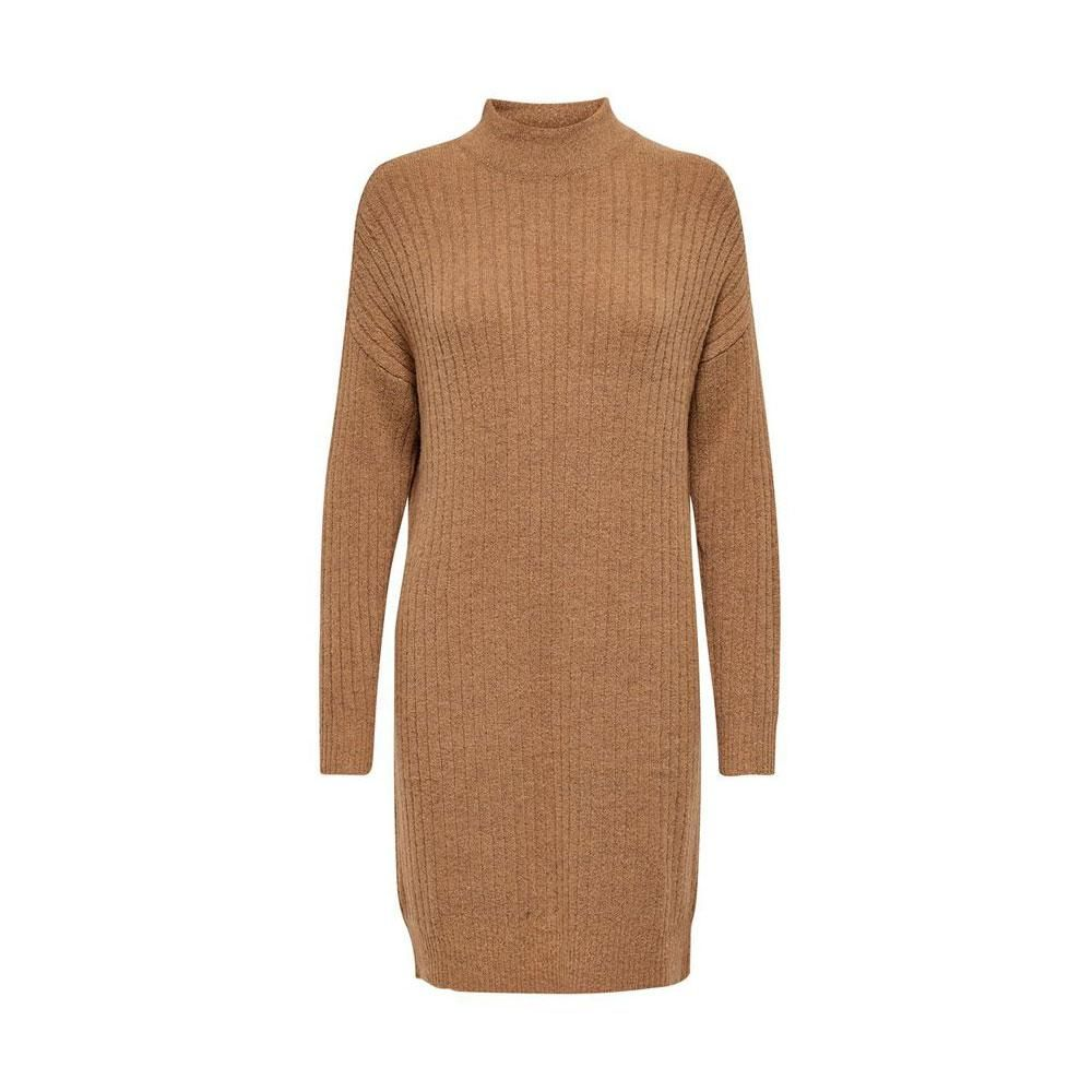 Only Mekia Knitted Dress BROWNIE - M