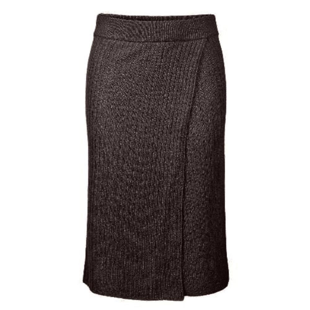pieces suna knitted skirt NATURAL - M