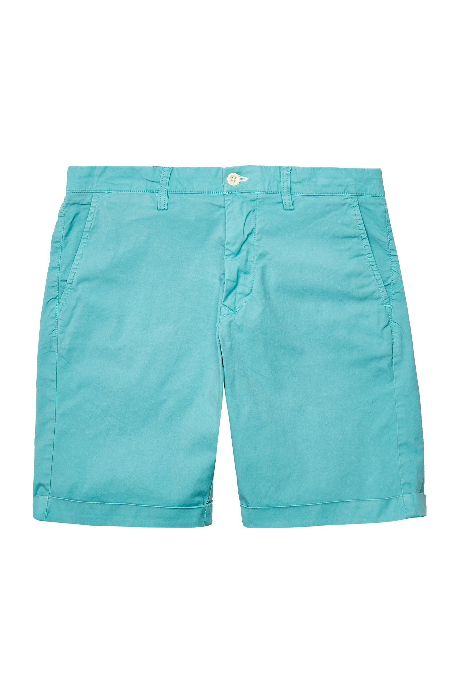 Gant - Regular Fit Sunfaded Shorts in Aqua 35