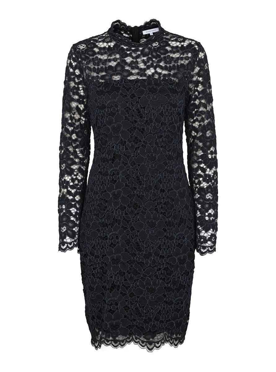 Second Female Mulan Lace Dress - Black XS