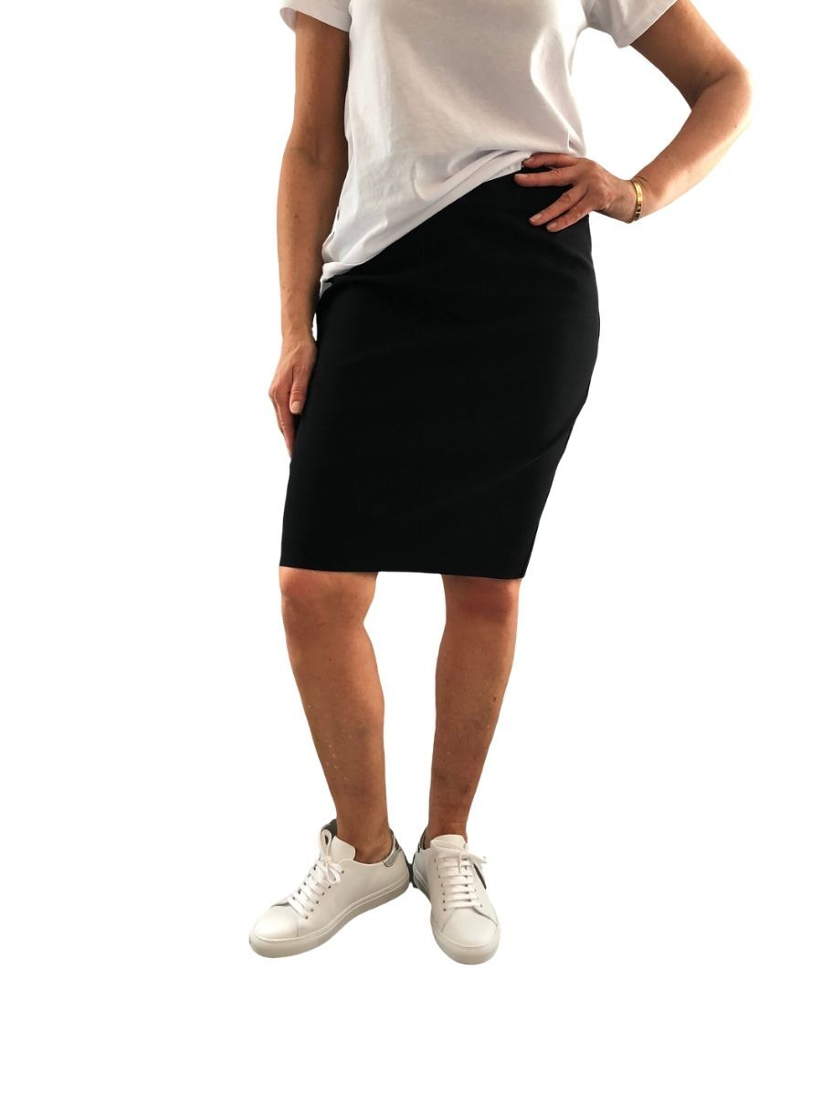 Up Pants 70437 Techno 22' Skirt - Black UK 14 / USA 10