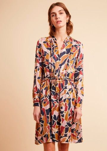 Frnch Any Dress - Jardin Volant XS