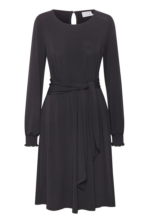 Kaffe KAntonia Dress - Black Deep L