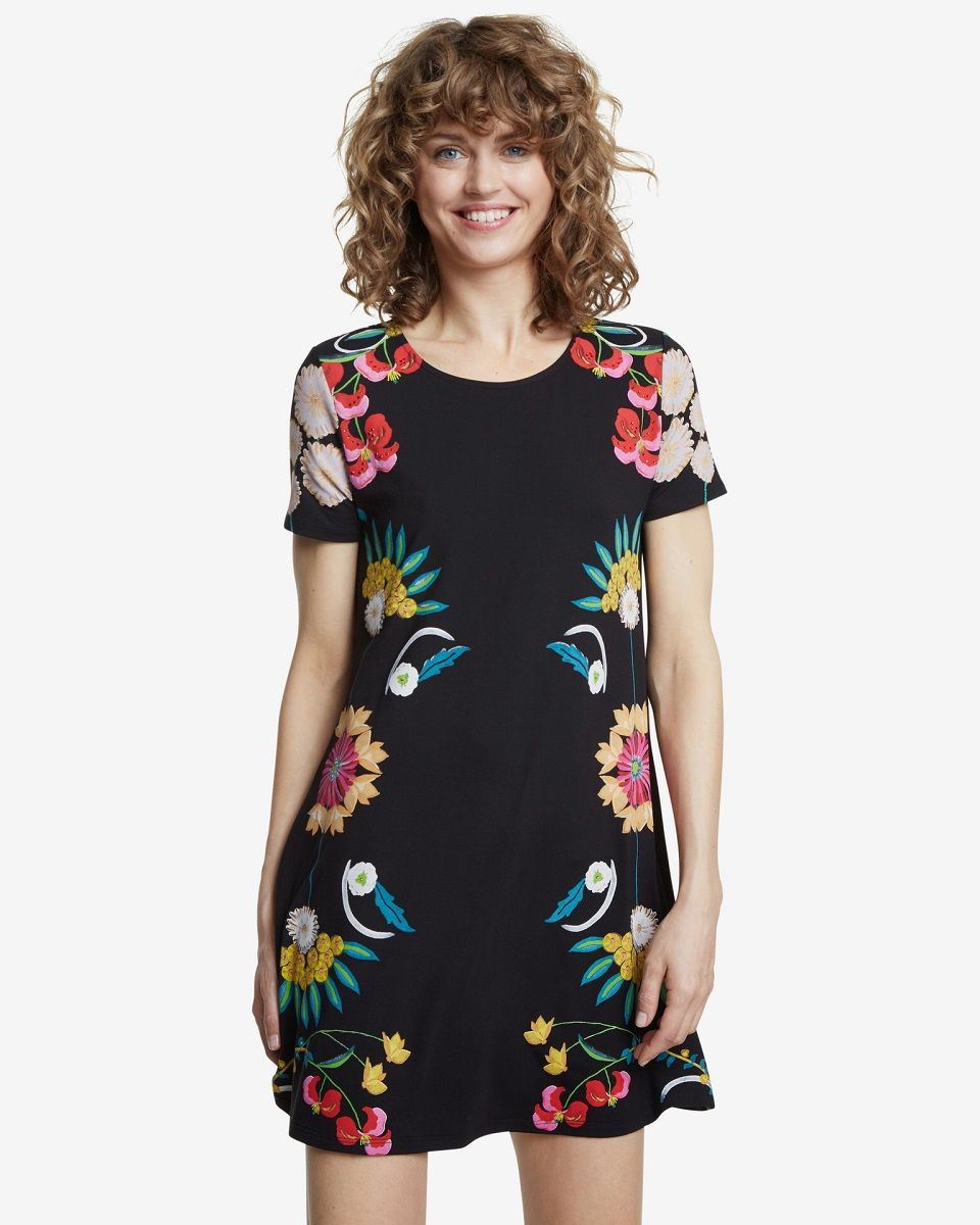 Desigual Dallas Dress - Black L