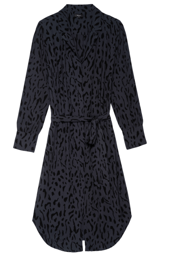 Rails Alix Dress - Ash Cheetah M