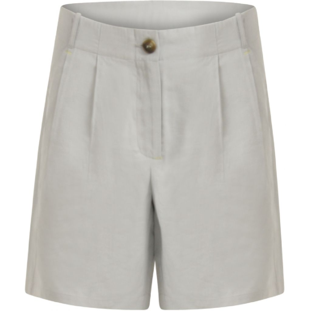 Coster Copenhagen Shorts with Horn Button - Frost Blue 38