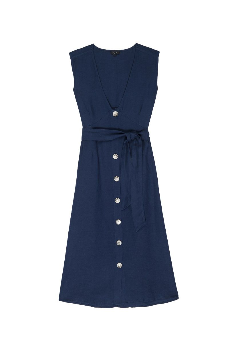 Rails Alice Dress - Bright Indigo M