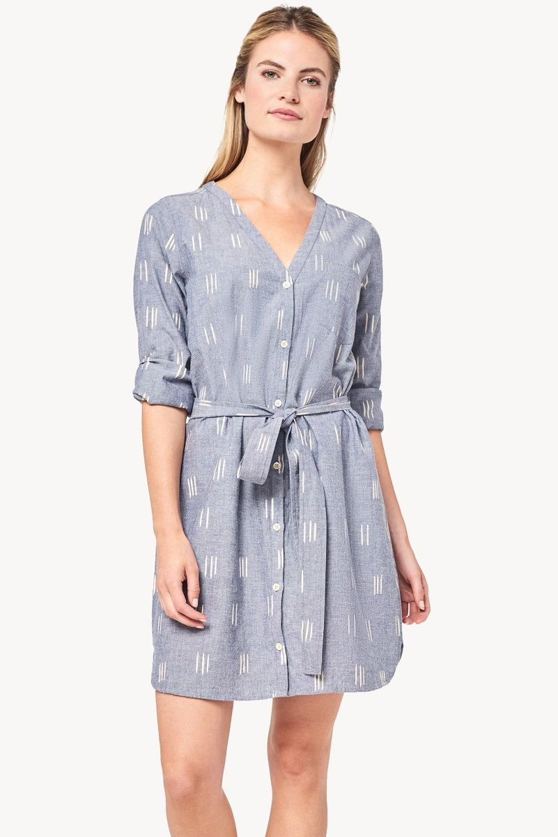 Lilla P Shirt Dress - Ikat M