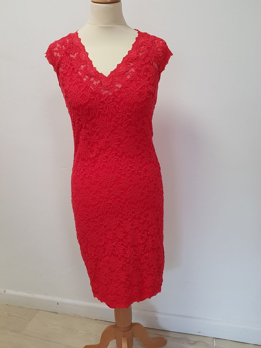 Rosemunde Delicia Dress - Strawberry XS