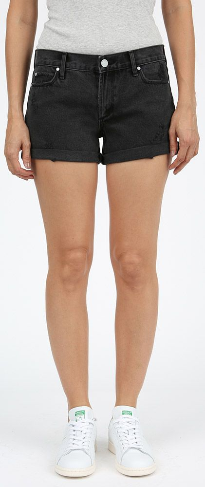 Articles of Society Behy Relaxed Boyfriend Shorts - Dresden L