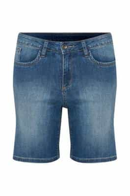 Kaffe Augustine Shorts - Medium Blue Denim 38/10