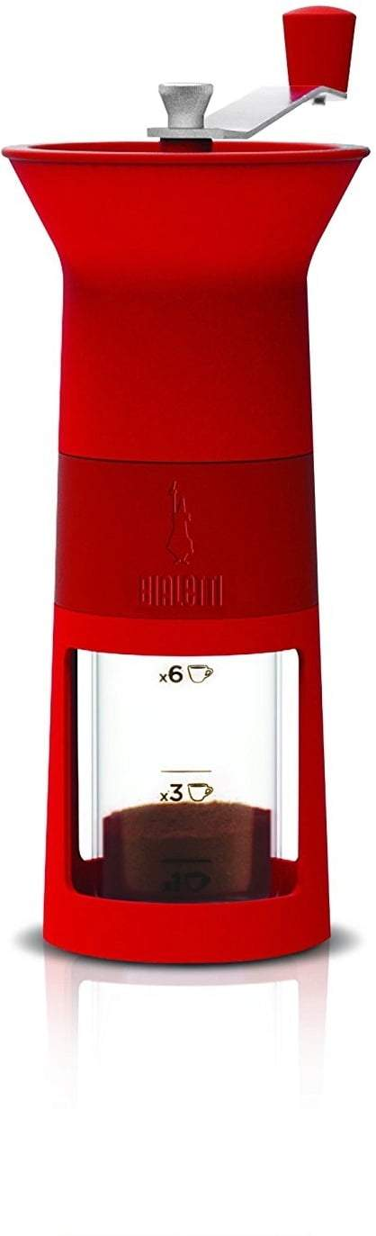 Bialetti - Hand Coffee Grinder Red