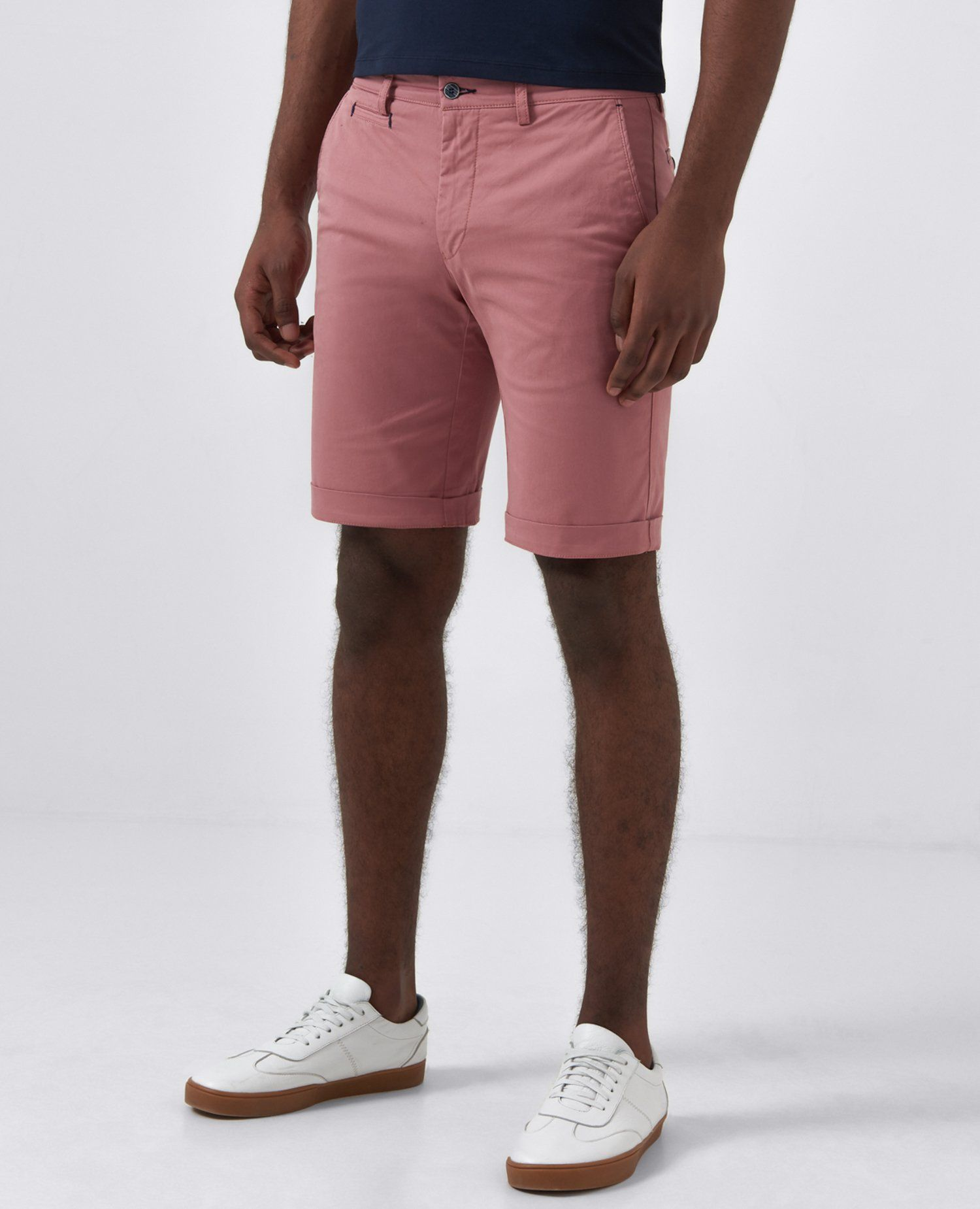 Elio Pink Tailored Shorts 32'