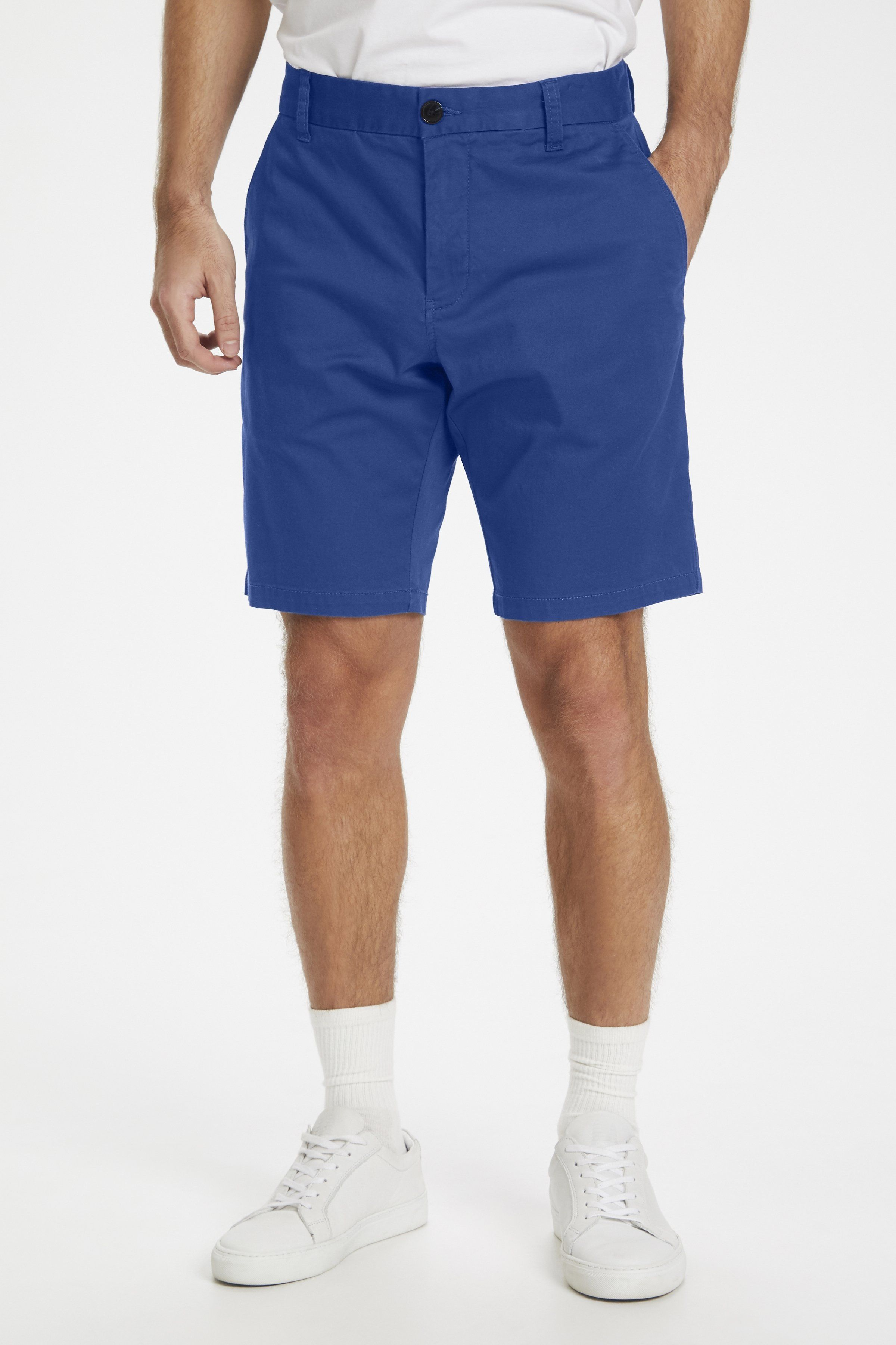 Pristu Mediterranean Blue Tailored Shorts 32'