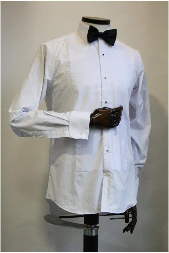 White Marcella Dress Shirt 15.5'
