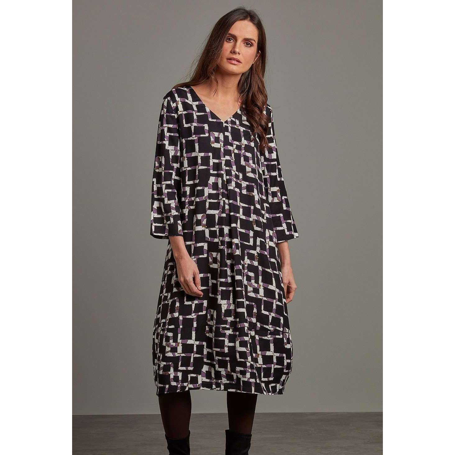 Christa Dress Sloane Print M(14)
