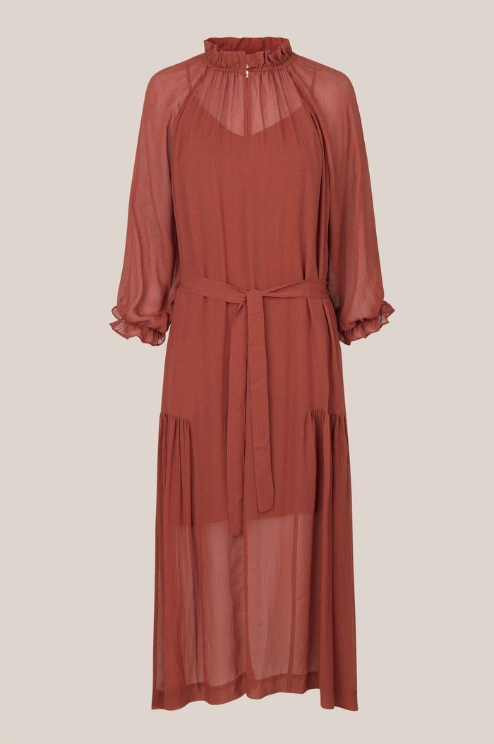 Second Female Tul SS Long Dress XS