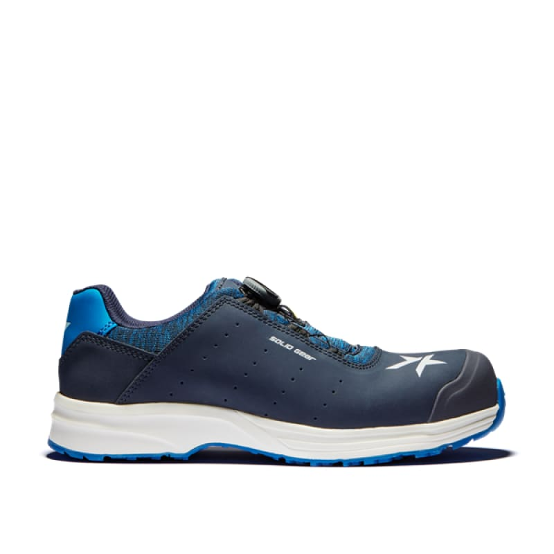 Snickers Solid Gear Ocean Trainer Shoe-SG 61001 Blue - 36