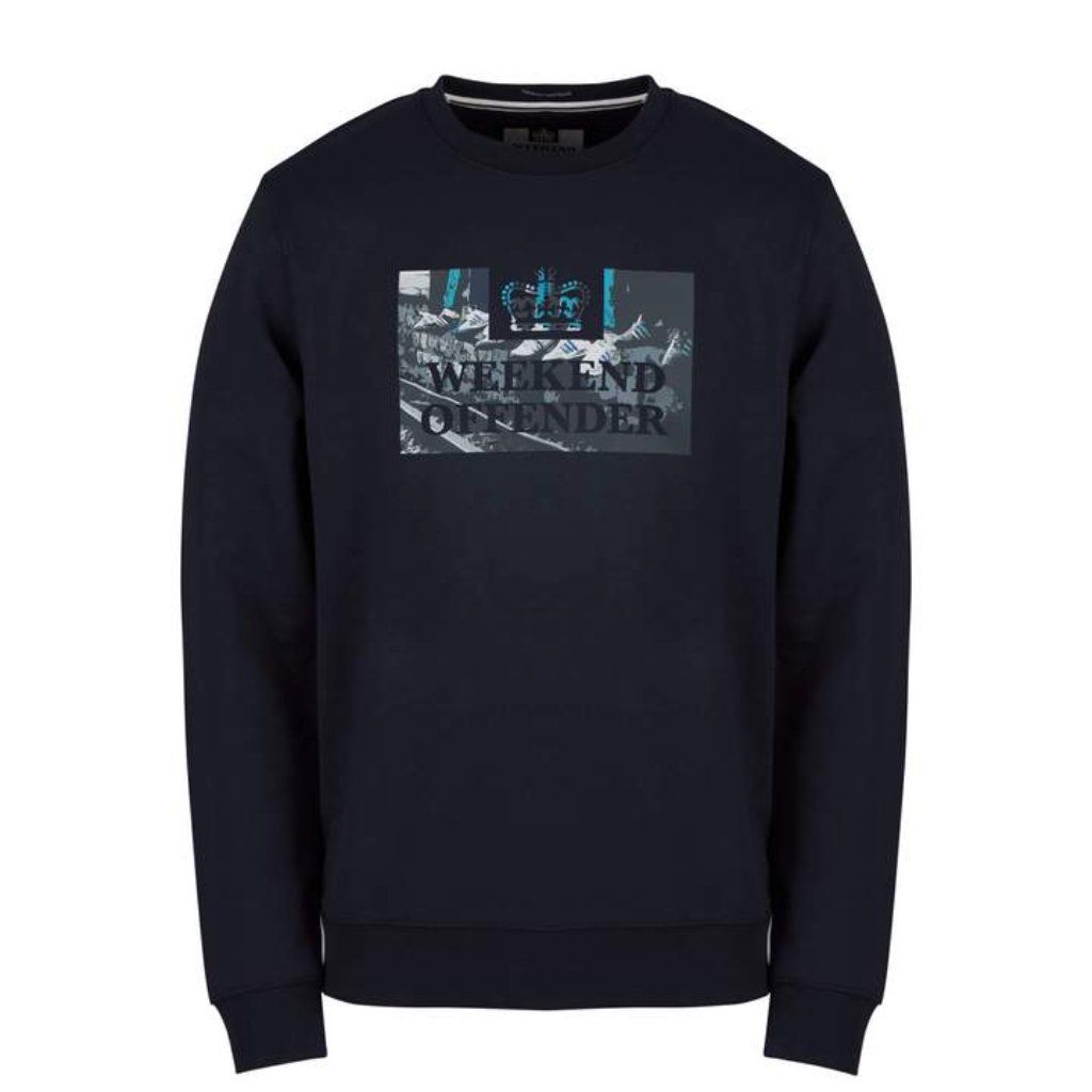 Weekend Offender Saturdays Sweatshirt - Navy Large