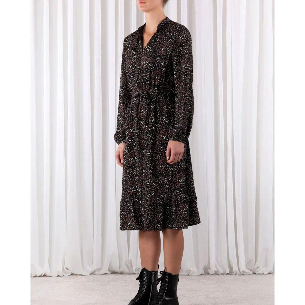 rino and pelle lalita dress BLK PRINT - 12