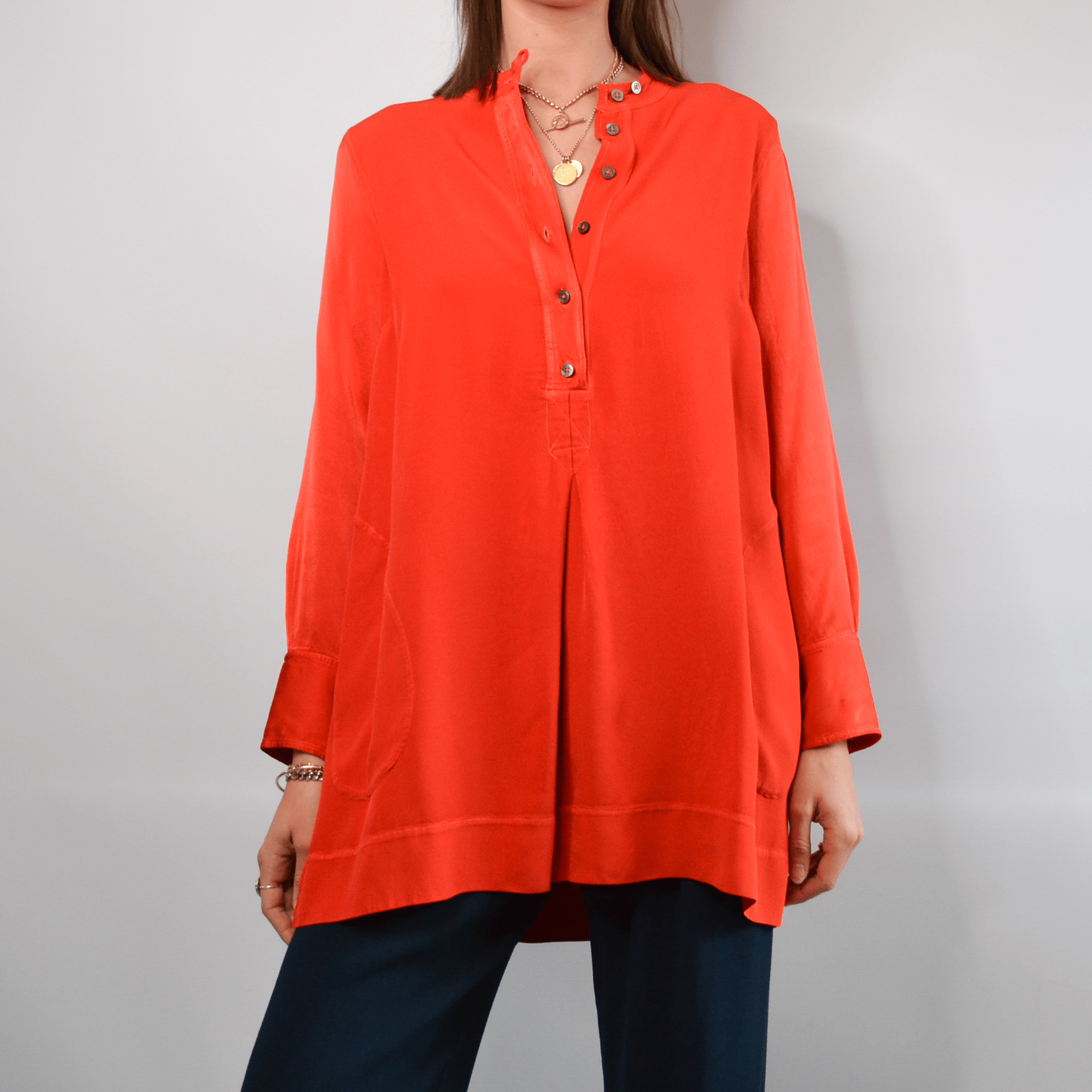 HW2 Orange Tunic Small
