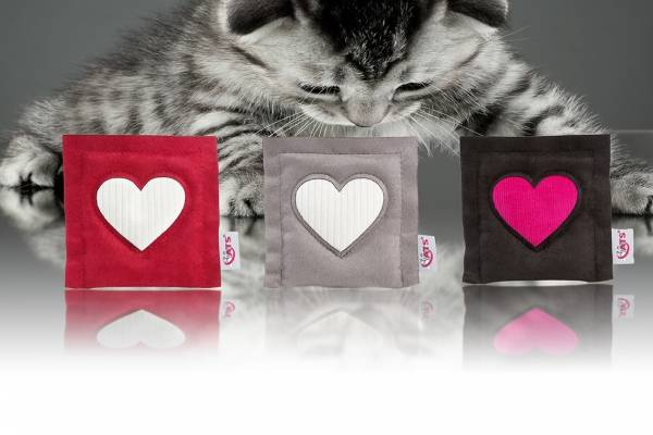 4cats Square Heart - Valerian cat toy