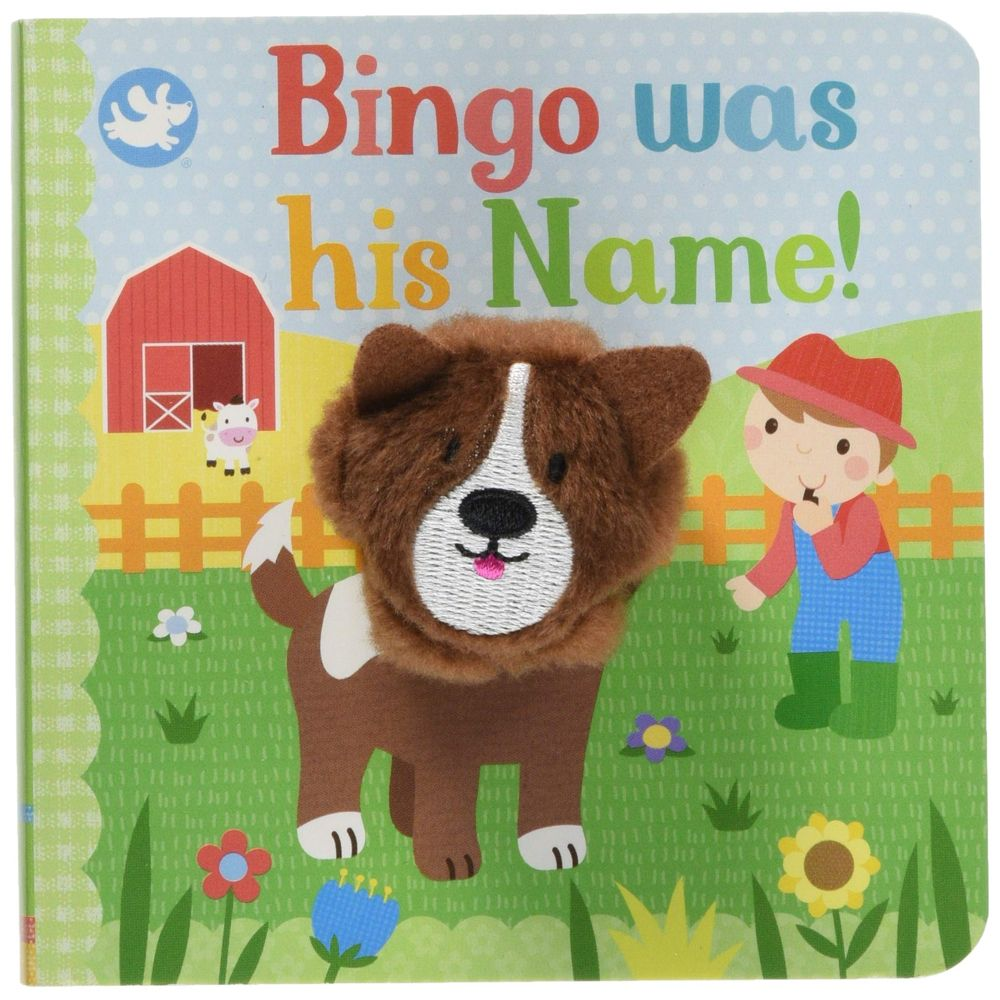 Bingo Was His Name Finger Puppet Book
